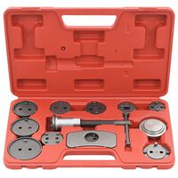 vidaXL 12 Pieces Disc Brake Caliper Wind Back Tool Kit