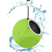 Portable bluetooth speaker IPX7 water resistant - Green