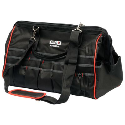 YATO Tool Bag 49x26x34cm Black