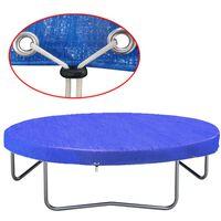 vidaXL Trampoline Cover PE 360-367 cm 90 g/m²