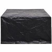 vidaXL Garden Furniture Cover 6 Person Poly Rattan Set 8 Eyelets 172 x 113cm