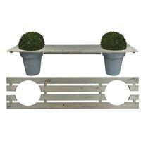 Esschert Design Planter Bench 180 cm NG71