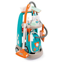 Smoby Cleaning Trolley and Vacuum Cleaner