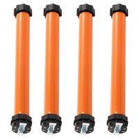 vidaXL Tubular Motors 4 pcs 10 Nm