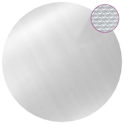 vidaXL Pool Cover Silver 250 cm PE
