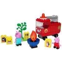 """BIG 40 Piece """"Bloxx"""" Peppa Pig Fire Engine Set"""