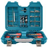 Makita 104 Piece Drill and Bit Set Metallic