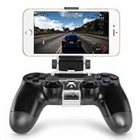 Adjustable mount for PS4 controller and Android mobile