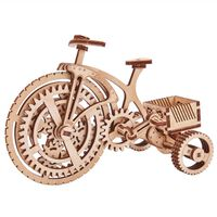 Wood Trick Wooden Scale Model Kit Bicycle