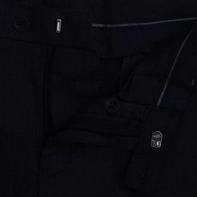 vidaXL Men's Dress Pants Black Size 48