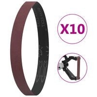vidaXL Sanding Belts 10 pcs P80 40x760 mm