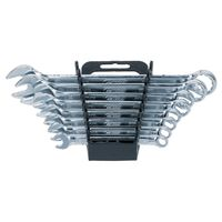 KS Tools Combination Wrench Set with Storage Rack 8pcs 8-19mm
