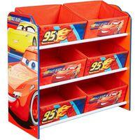 Disney Kid's Storage Unit Cars Red 60x30x64 cm WORL320019