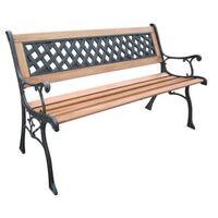 HI Garden Bench 126 cm Wood