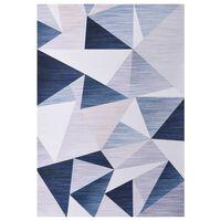 vidaXL Printed Rug Multicolour 160x230 cm Fabric