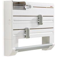 Leifheit Wall-mounted Roll Holder Parat Plus White 25723