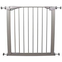 FLAMINGO Pet Safety Gate Salus Grey 79-84 cm