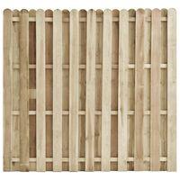 vidaXL Fence Panel Impregnated Pinewood 180x170 cm