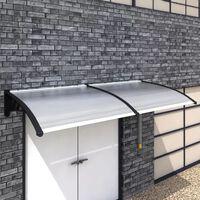 vidaXL Door Canopy 300x100 cm PC