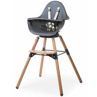 CHILDHOME 2-in-1 Baby High Chair Evolu One.80° Anthracite CHEVO180NA