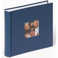 Walther Design Photo Album Fun Memo 10x15cm Blue 200 Photos
