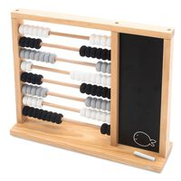 Jollein Toy Abacus Grey and Black