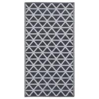 vidaXL Outdoor Carpet Black 80x150 cm PP