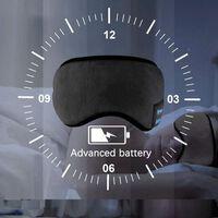 Sleeping mask with headphones Bluetooth 5.0 - black