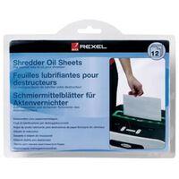 Rexel Shredder Oil Sheets 12pcs