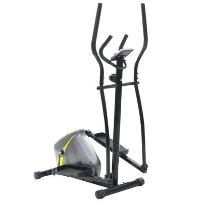 vidaXL Magnetic Elliptical Trainer with Pulse Measurement