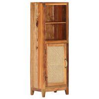 vidaXL Highboard 40x30x122 cm Solid Reclaimed Wood