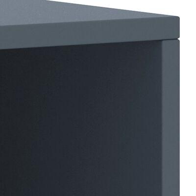 vidaXL Bedside Cabinets 2 pcs Light Grey 35x30x40 cm Solid Pinewood