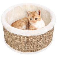 vidaXL Round Cat Basket 36 cm Seagrass