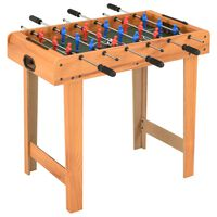 vidaXL Mini Football Table 69x37x62 cm Maple