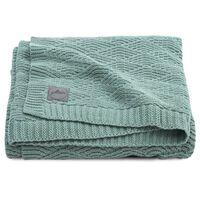 Jollein Blanket River Knit 100x150 cm Ash Green