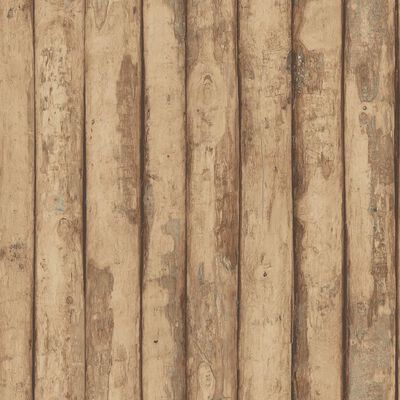 Homestyle Wallpaper Old Wood Brown