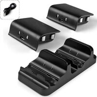 Xbox One Controller Dual Charger with 2 rechargeable batteries