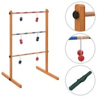 vidaXL Golf Spin Ladder Wood