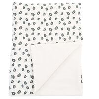 CHILDHOME Baby Blanket 100x80cm Jersey Leopard