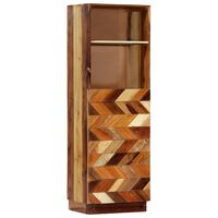 vidaXL Highboard 40x32x122 cm Solid Reclaimed Wood