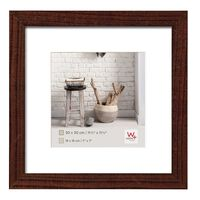 Walther Design Picture Frame Home 30x30 cm Walnut