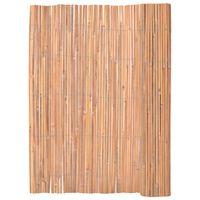 vidaXL Bamboo Fence 125x400 cm