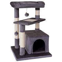 @Pet Cat Scratcher Laura 50x50x75 cm Grey
