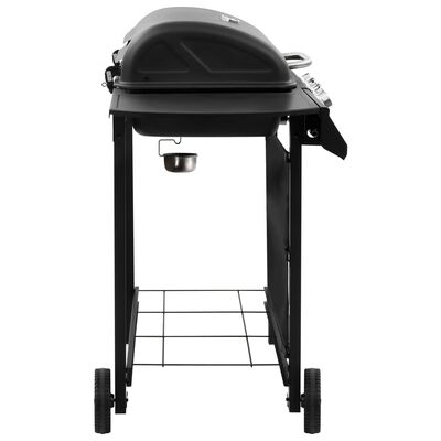 vidaXL Gas BBQ Grill with 4 Burners Black (FR/BE/IT/UK/NL only)