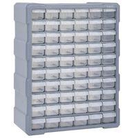 vidaXL Multi-drawer Organiser with 60 Drawers 38x16x47.5 cm