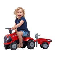 FALK Toy Tractor Set Case IH Babyfarmer 1/3