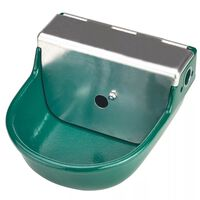 Kerbl Float Drinking Bowl S190 2 L Cast Iron Green 22190