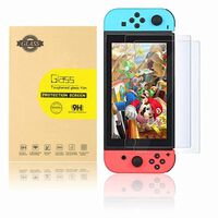 Screen protector Nintendo Switch Tempered glass 2-pack
