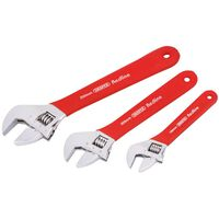Draper Tools Redline Three Piece Adjustable Spanner Set 67634