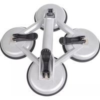 ProPlus Vacuum Lifter with 4 Suction Cups Aluminium Silver